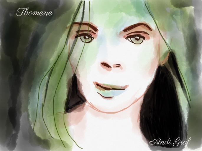 Anndelize Graf, 2015. Thomene. iPad sketch.