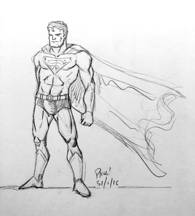 Superman-sketch
